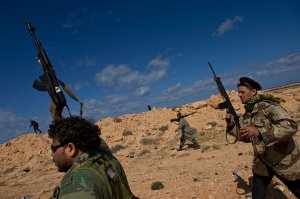 Libyan Rebel with AK-103 (March 5th 2011)