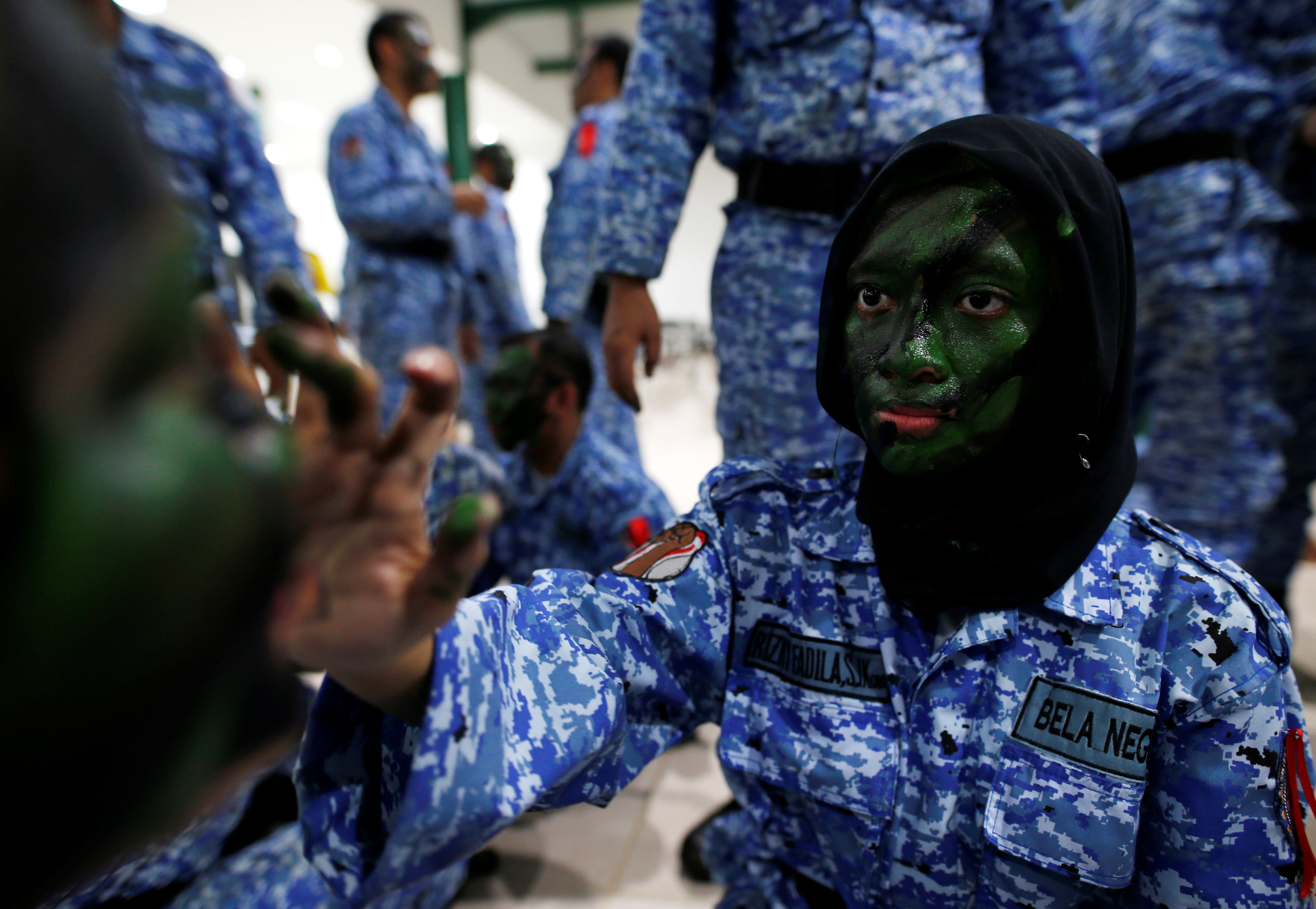 The Wider Image: Defending the nation against perceived threats